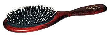 Brosse à poils pour chiens Maxipins brosse ovale de grande taille, avec poils de sanglier et épingles à cheveux. pour les peaux de chats et autres animaux domestiques, env. 23 x 6,5 cm