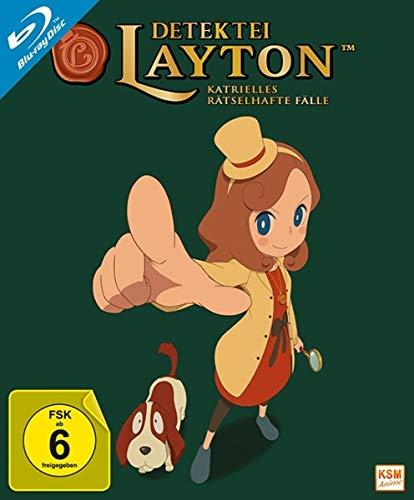 Detektei Layton - Katrielles rätselhafte Fälle: Volume 1 (Episode 01-10) [Blu-ray]