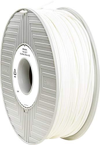 Verbatim 2.85 mm PLA Filament for Printer - White