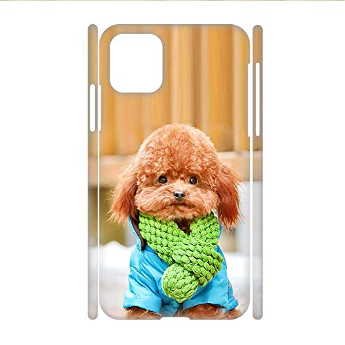Desconocido Print with Poodle Men Abs Case The One Compatible For Apple iPhone 11