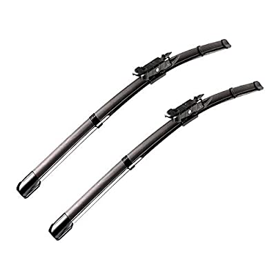 "2 wiper Factory for Toyota Tundra 2006-2018 Toyota Sequoia 2007-2018 Original Equipment Replacement Wiper Blade - 26""/23"" (Set of 2) Pinch Tab"