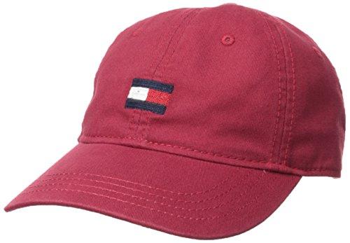 Tommy Hilfiger Men's Ardin Dad Hat, Tommy Red, One Size