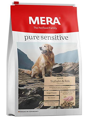 Mera Dog Hondenvoer Pure Sensitive Senior, 12,5 Kg