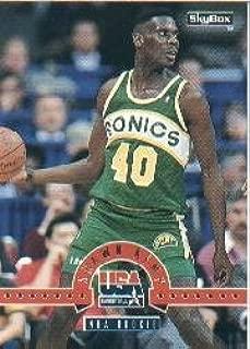 1994 SkyBox USA Basketball Rookie Card (1994-95) #14 Shawn Kemp