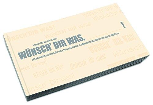 """Gutschein-Buch zum Selbst-Ausfüllen """"Wünsch dir was"""""""