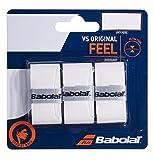Babolat Vs Original X3 Accesorio Raqueta de Tenis, Unisex Adulto, Blanco,...
