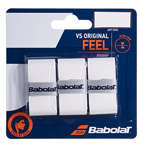 Babolat Vs Original X3 Accesorio Raqueta de Tenis, Unisex Adulto, Blanco, Talla Única
