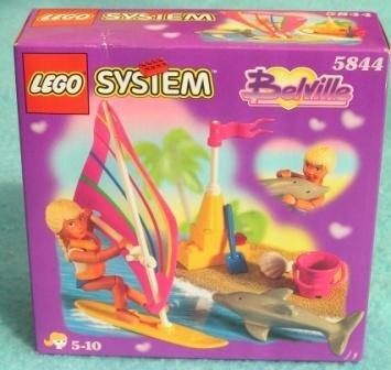 Lego 5844 Belville Dolphin Windsurfer