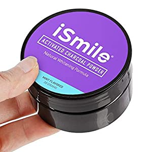 iSmile Activated Charcoal Teeth Whitening Powder