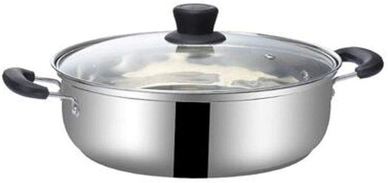 100% a estrenar con calidad original. Jiansheng01-ou Olla para para para sopa, acero inoxidable 304, adecuado para cocinar ollas para alimentos, ollas multiuso están disponibles en una variedad de tamaos, tamao pequeo 10.4 pulgadas de alto 3.6 p  moda