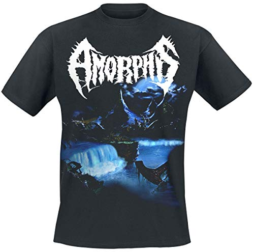 Amorphis Tales from The Thousand Lakes Männer T-Shirt schwarz L 100% Baumwolle Band-Merch, Bands