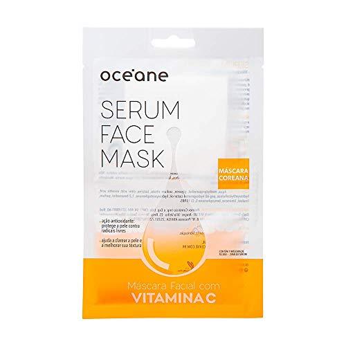 Máscara Facial Vitamina C, Serum Face Mask, Océane
