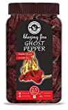 Bhut Jolokia Chilli whole- 2.5 Oz, Ghost pepper pod, Hottest Chilli whole, Smoked dried & Spicy chilli of the world