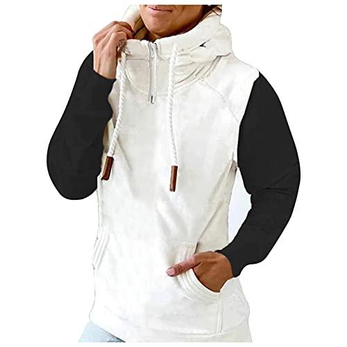 Berimaterry sudaderas de mujer moda con capucha y cremallera camisetas manga larga top casual hoodies con estampado Jerséis originales otoño invierno ropa deportiva para mujer sudadera chándal