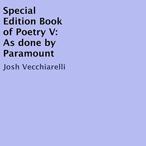Special Edition Book of Poetry V: As Done by Paramount audiobook cover art