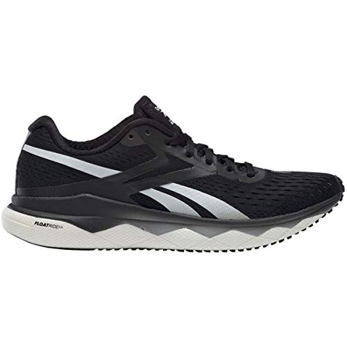 Reebok Women's Floatride Run Fast 2.0 Running Shoe - Color: Black/Pure Grey 3/White (Regular Width) - Size: 6.5