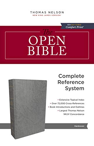 The NKJV, Open Bible, eBook: Complete Reference System