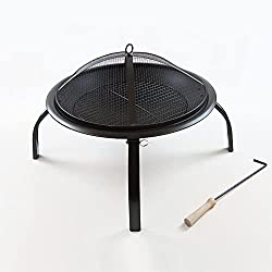 Marko Outdoor Round Folding Fire Pit