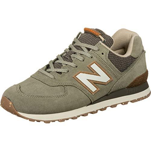 New Balance Herren 574v2 Sneaker, Grün (Green Soj), 45.5 EU