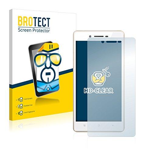 BROTECT Schutzfolie kompatibel mit Oppo Neo 7 (2 Stück) klare Bildschirmschutz-Folie