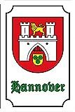 Generisch Hannover (Hannover) Blechschild Metallschild