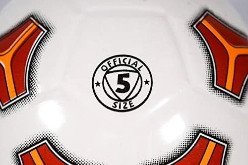 Mondo-2075 Roma - Balón de fútbol, Color Amarillo, Rojo, 2075 ...
