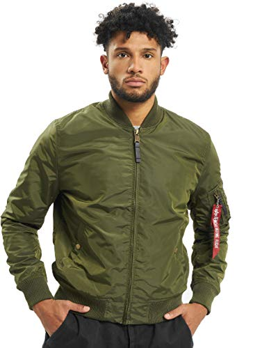 ALPHA INDUSTRIES Herren Bomberjacken MA-1 TT grün XL