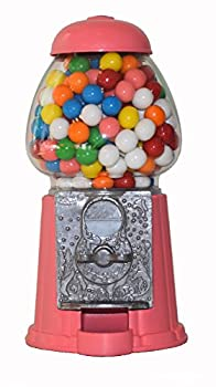 Gumball Dreams Classic Gumball Machine/Candy Dispenser 9 Inch - Bubble Gum Pink
