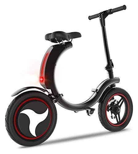 RDJM Bici electrica Bicicletas eléctricas rápidas for Adultos 36V 7.8Ah Bicicleta eléctrica de 14 Pulgadas Bicicleta eléctrica de Iones de Litio 350W Ebike Urbano de cercanías for Adultos con App