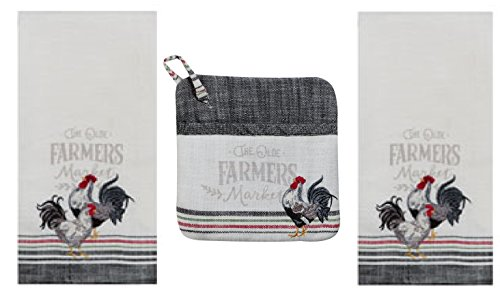 Top 10 Best Selling List for matching kitchen towels and potholders