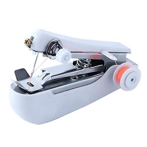 Naaien mini met de hand naaimachine handleiding Multifunctionele draagbare huishoudelijke borduurmachine Cordless kleur willekeurige