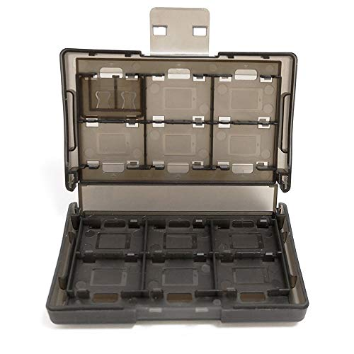 Spielkarten Organizer für Nintendo Switch, 24 Slot Game Card Case - Portable Games Spiel karten Hartschalen Schutzkarten Box mit 24 Steckplätzen.