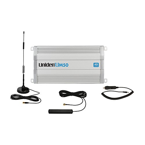 Uniden UM50 4G Car/RV/Boat Cellular Booster Kit - Cell Amplifier Repeater