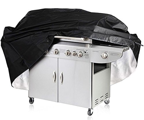 Bâche de Barbecue, Aidonger Housse de Protection Barbecue Couverture de Gril à Gaz Bâche Barbecue Imperméable Anti-UV Anti-poussière Anti-pluie avec Sac de Rangement 170 x 61 x 117 cm