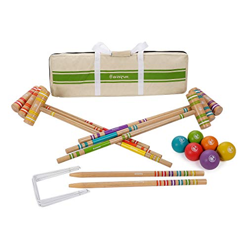 US Stock Arrowsy Croquet For Outdoor Sports Of Teenagers Ball Games Wooden Handle Children Toys