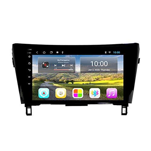 LHMYHHH El Reproductor Multimedia para Automóvil Es Adecuado para Nissan X-Jun Qashqai 2013-2016 Android Car con Navegación GPS Bluetooth Máquina Integrada Navegación Táctil Completa 2G + 32GB