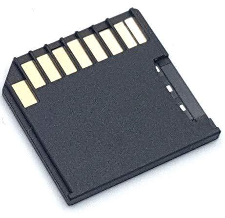 microSD→SD 変換アダプター Apple MacBook Pro Air Retina 対応 ブラック SM-APACC007-BK