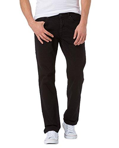 Cross Jeans Herren Antonio Jeanshose, Schwarz (Black 028), W40/L32 (Herstellergröße: 40)