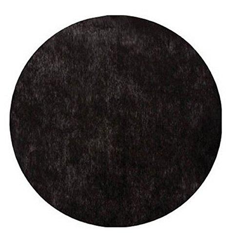 Chal - 50 Sets de table intissé ronds noir