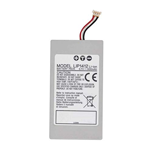 Civhomy LIP1412 Battery Replacement for Sony PSP GO PSP-N1000 PSP-N1001 PSP-N1002 PSP-N1003 PSP-N1008 PSP-N100 PSP-NA1006 3.7V 930mAh