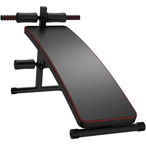 Peso Ajustable Bench,Banco Fitness para Whole Body Ejercicio,Plegable Banco del Entrenamiento,Fitness Stool,Work out at Home,Carga Máxima 150Kg(Flete Aéreo)