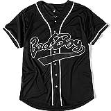 Bad Boy 10 Baseball Jersey, 90s Hip Hop Men...