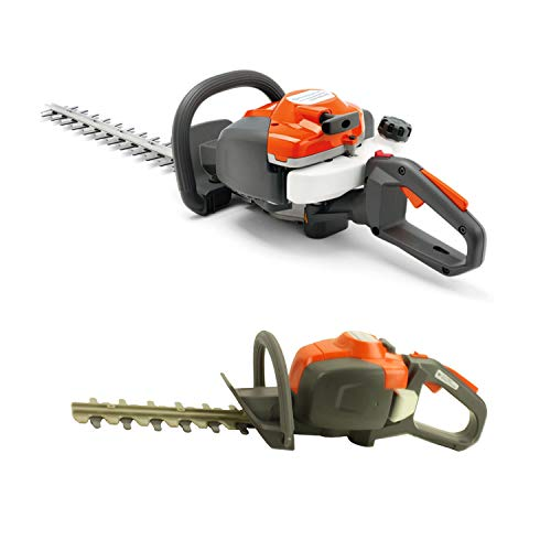 Review Of Husqvarna 122HD45 18 Inch 2 Cycle Gas Powered Hedge Trimmer & Toy Hedge Trimmer