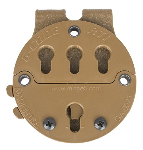 G-CODE (TAN RTI Battle Belt MOLLE Adapter-GCA 87-100% Made in USA