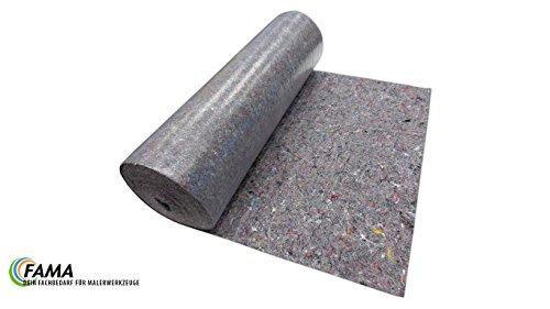 Abdeckvlies 250g/m² | 1 m x 50 m | 50m² | PE-Beschichtung | Rutschhemmend