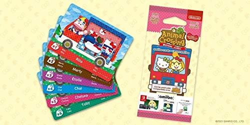 Amiibo Karten: Animal Crossing: New Leaf – Sanrio Collaboration Pack (6 Stück) - 12