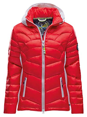 Marinepool Damen Serafina Down Padded Jacke, Red, XL