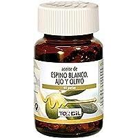 Aceite de Espino Blanco Ajo y Olivo 60 perlas de Tongil