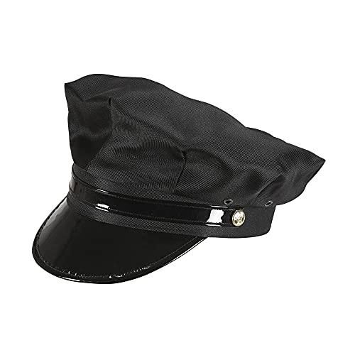 Widmann 03608chauffeur sombrero para Adultos, color negro , Modelos/colores Surtidos, 1 Unidad