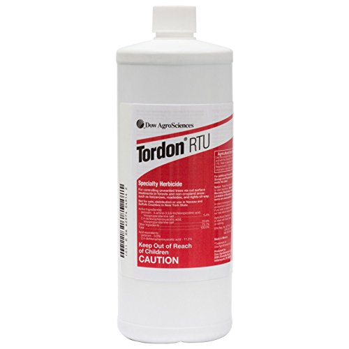 """Tordon Rtu Specialty Herbicide 1 Qt Kills Woody Plants And Trees Not For: Ca;ny"""""""